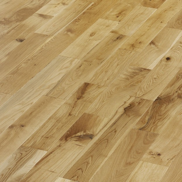 125mm Brushed & Lacquered Oak | 14/3 Engineered Range | Natural class=