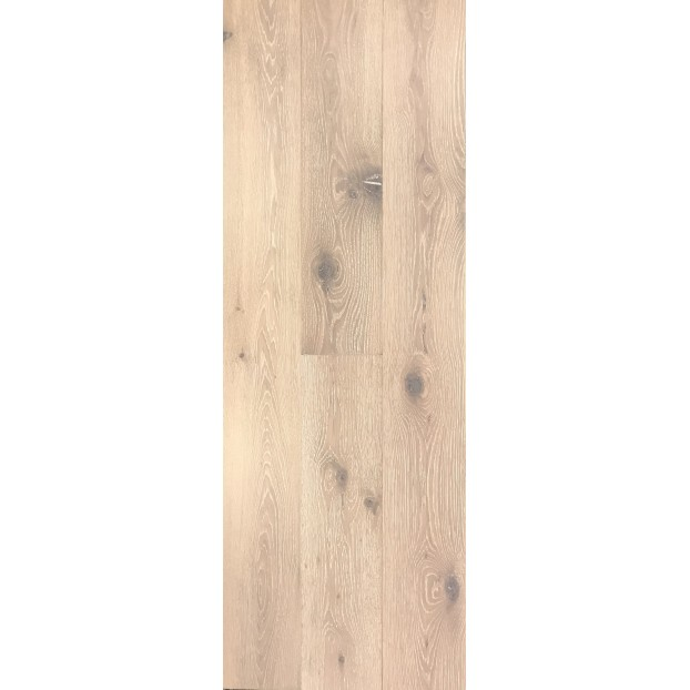 14/3 x 190 x 1900mm | Engineered Oak | Brushed & White Matt Lacquered | ABCD class=