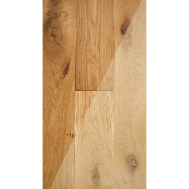 14/3 x 190 x 1900mm | Engineered Oak| Brushed & Unfinished | ABCD class=