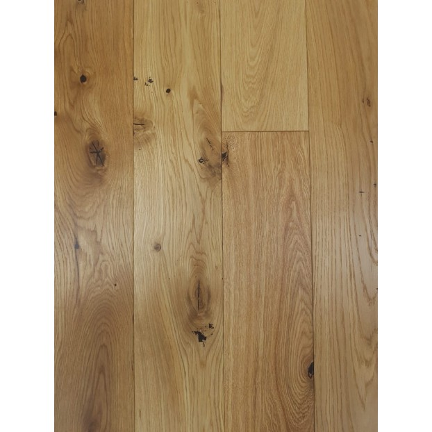 14/3 x 125 x RL| Engineered Oak | Brushed Matt Lacquered | ABCD class=