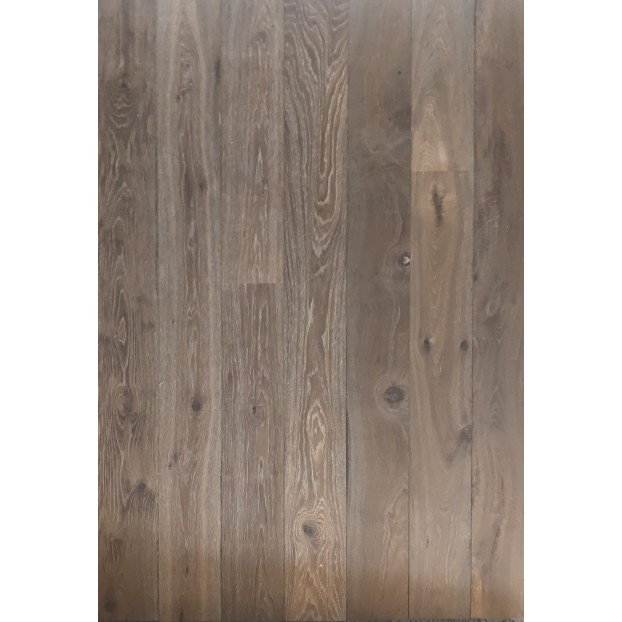 15/4 x 190 x 1900  Engineered Oak | T&G | Double Smoked & Brushed | Grade ABCD class=
