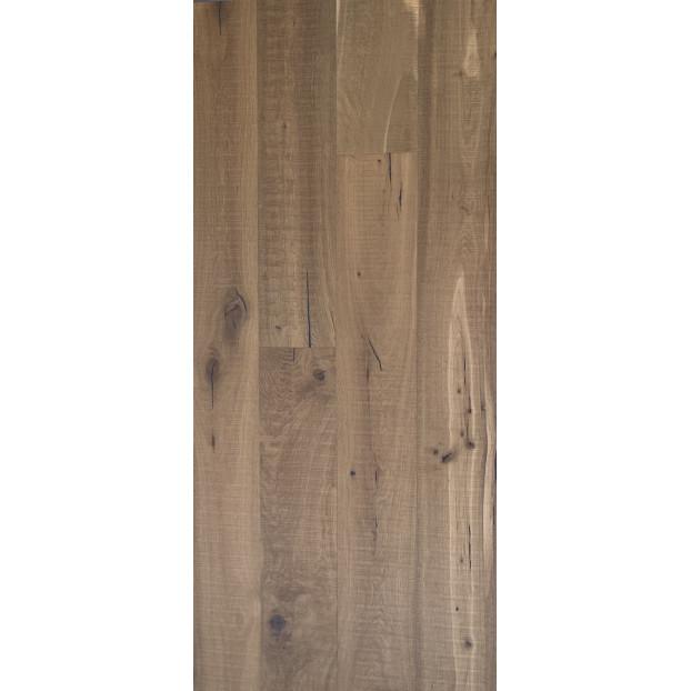 15/4 x 220 x 2200  Engineered Oak | T&G | Smoked, Bandsaw & Matt Lacquered | Grade ABCD class=