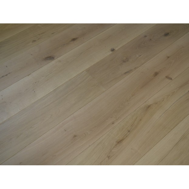15/4 x 260 x 2200  Engineered Oak | Brushed Unfinished | Rustic Grade class=