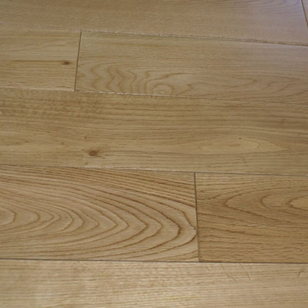150mm UV Lacquered Oak | 18/5 Engineered Range class=