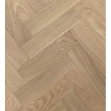 100mm x 500mm | Unfinished Oak | 20/6 Engineered collection | Square edged | Prime