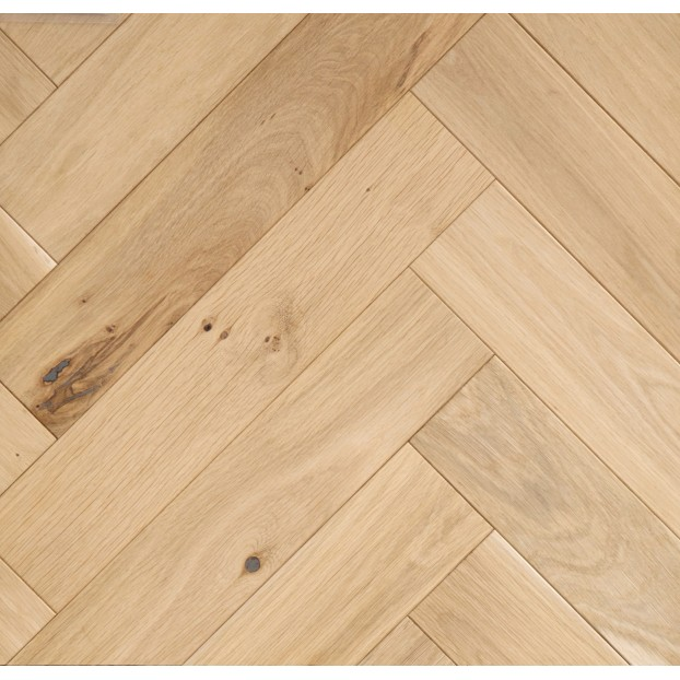 100mm Classic grade Unfinished Oak | 20/6 Engineered collection | Rustic class=