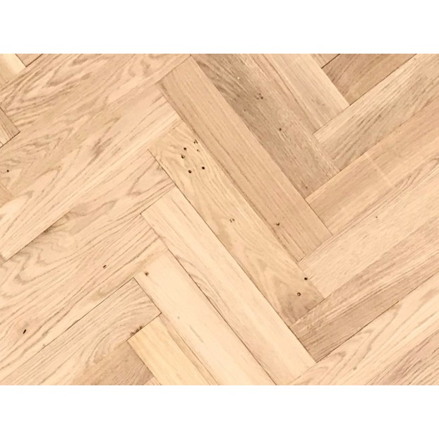 70mm Unfinished Oak | 20/6 Engineered collection | Square edged | Rustic class=