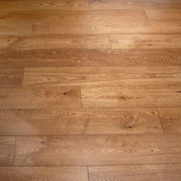 190mm Golden Oiled Oak | 20/6 Engineered Collection | Rustic class=