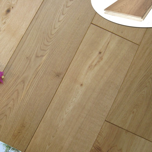 190mm Classic grade Oak | 20/6 Engineered collection | Natural Oiled class=
