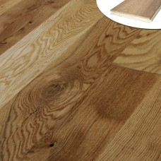 190mm Natural Oak | 20/6 Engineered collection | Country Rustic