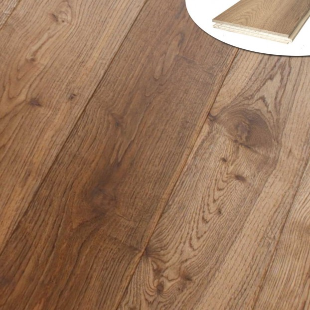 190mm Smoked & Oiled Oak | 20/6 Engineered Collection class=
