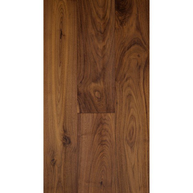 189mm x 1860mm UV Matt Lacquered American Black Walnut | 20/6 Structural Engineered Walnut T&G collection | Grade ABCD class=