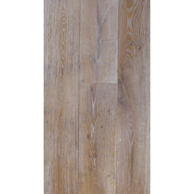 190mm x 1900mm Smoked, Brushed & White Oiled | 20/6 Structural Engineered Oak T&G collection | Grade ABCD class=
