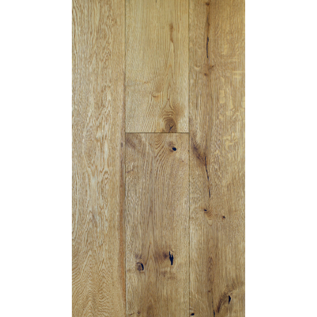 190mm x 1900mm Brushed & Matt Lacquered | 20/6 Structural Engineered Oak T&G collection | Grade ABCD class=