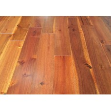 122mm Lacquered Solid Oak | 18mm Collection | Solid Tropical Acacia Walnut | Lacuered