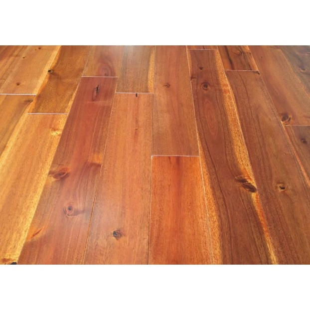 122mm Lacquered Solid Oak | 18mm Collection | Solid Tropical Acacia Walnut | Lacuered class=
