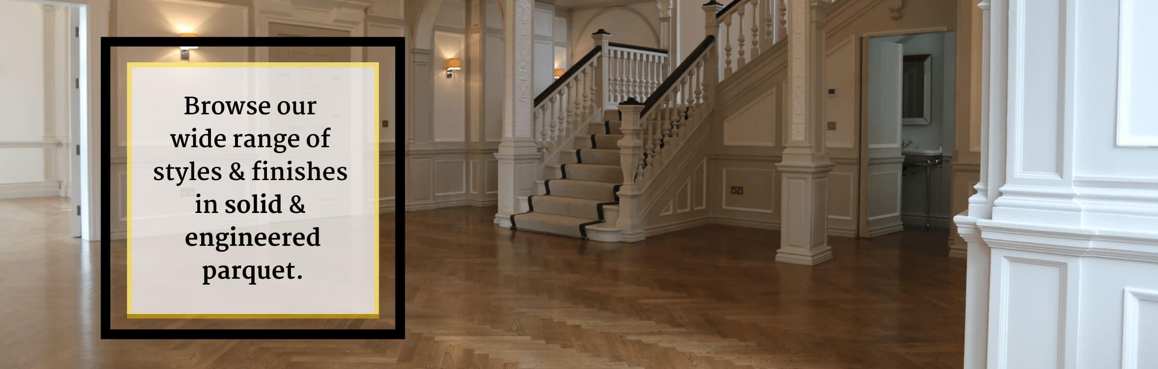 UK Flooring Centre Herringbone Parquet
