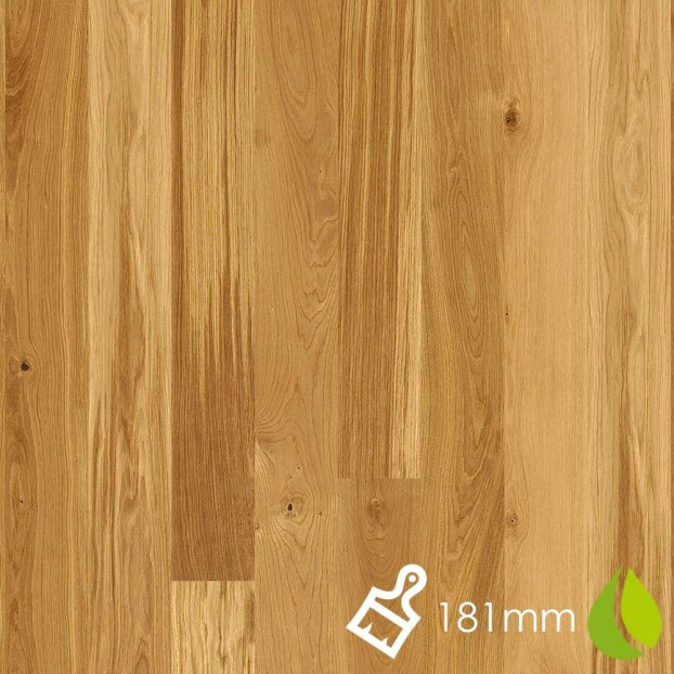 181mm Brushed Oak Animoso | Boen Microbevel Board | Live Natural class=