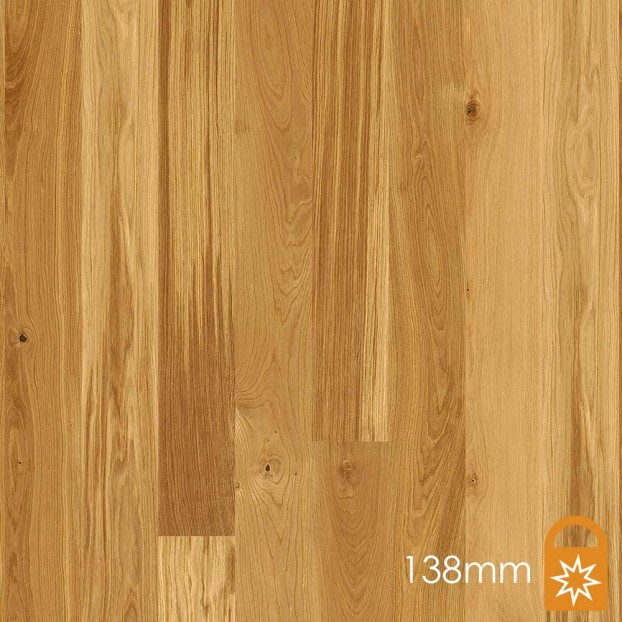138mm Oak Animoso | Boen Microbevel Board | Live Matt class=