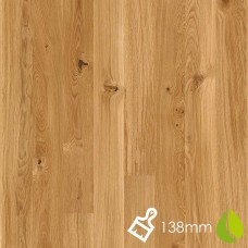 138mm Brushed Oak Vivo | Boen Microbevel Board | Live Natural