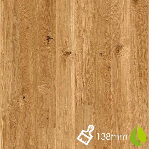 138mm Brushed Oak Vivo | Boen Microbevel Board | Live Natural class=