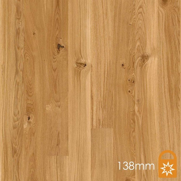 138mm Oak Vivo | Boen Microbevel Board | Live Matt class=