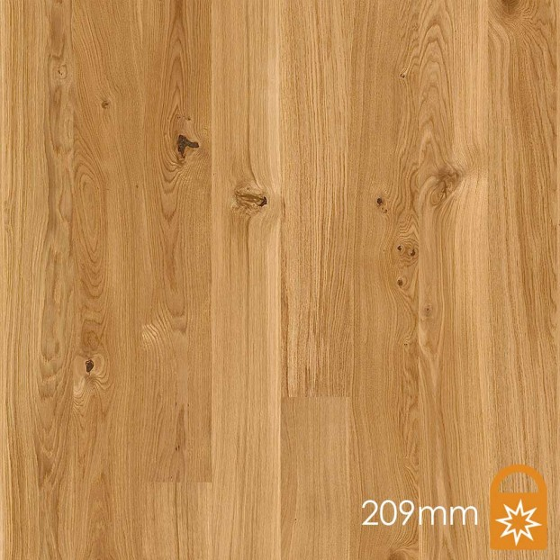 209mm Oak Vivo | Boen Microbevel Castle | Live Matt class=