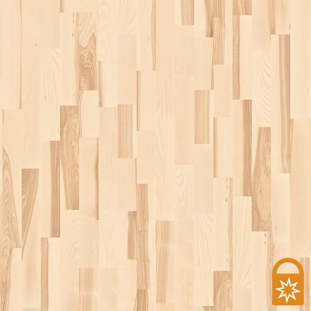 Ash Marcato White | Boen 3-Strip Engineered | Live Matt class=