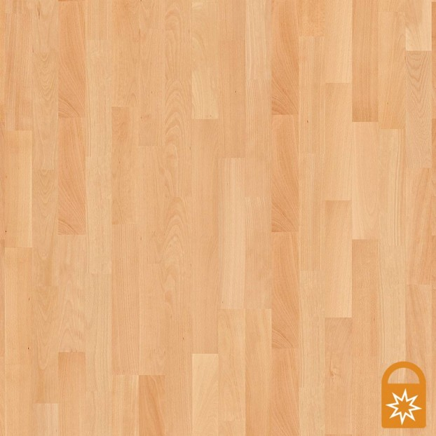 Beech Andante | Boen 3-Strip Engineered | Live Matt class=