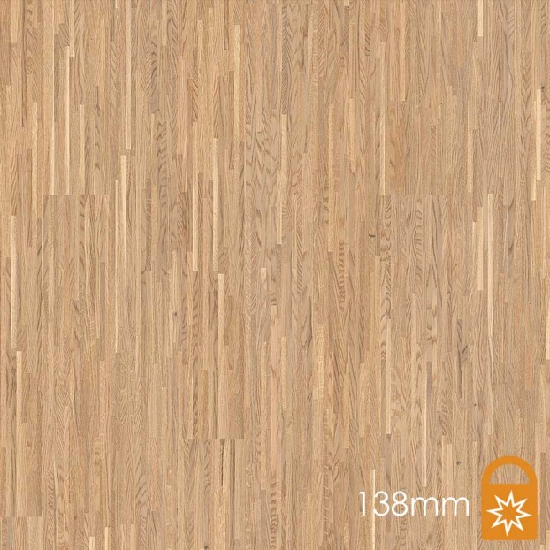 138mm Oak White | Boen Fineline Board | Live Matt class=