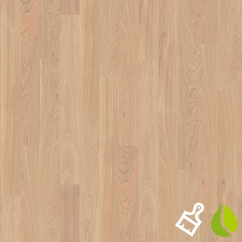 Brushed Oak Nature White Boen Maxi Engineered Live Natural