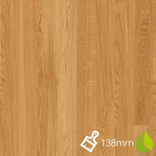 138mm Brushed Oak Andante | Boen Microbevel Board | Live Natural class=