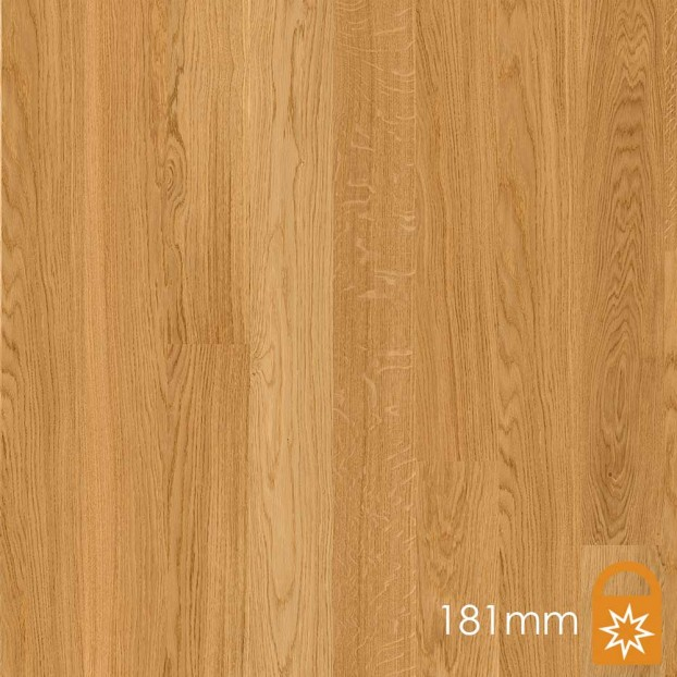 181mm Oak Andante | Boen Microbevel Board | Live Matt class=