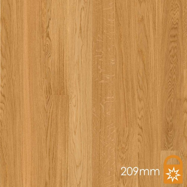 209mm Oak Andante | Boen Microbevel Castle | Live Matt class=