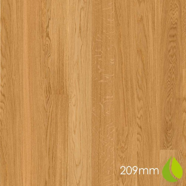 209mm Oak Andante | Boen Microbevel Castle | Live Natural class=