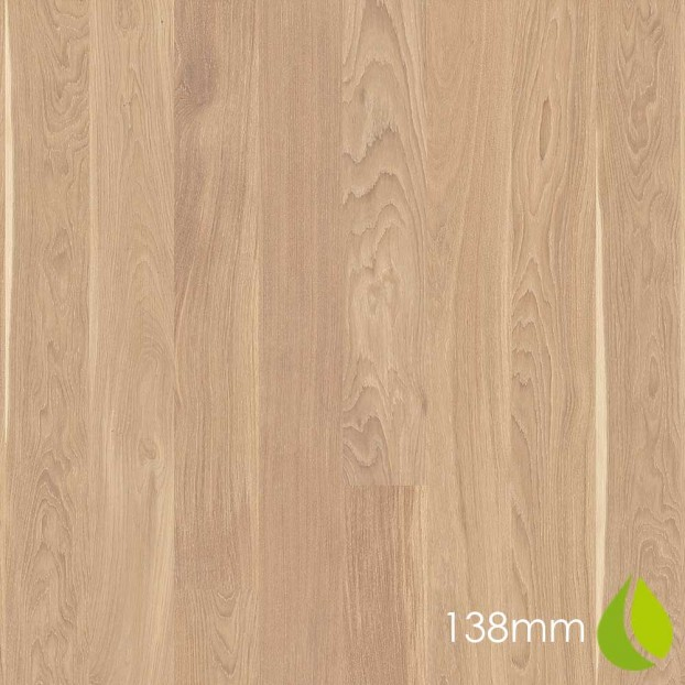 138mm Oak Andante White | Boen Microbevel Board | Live Natural class=