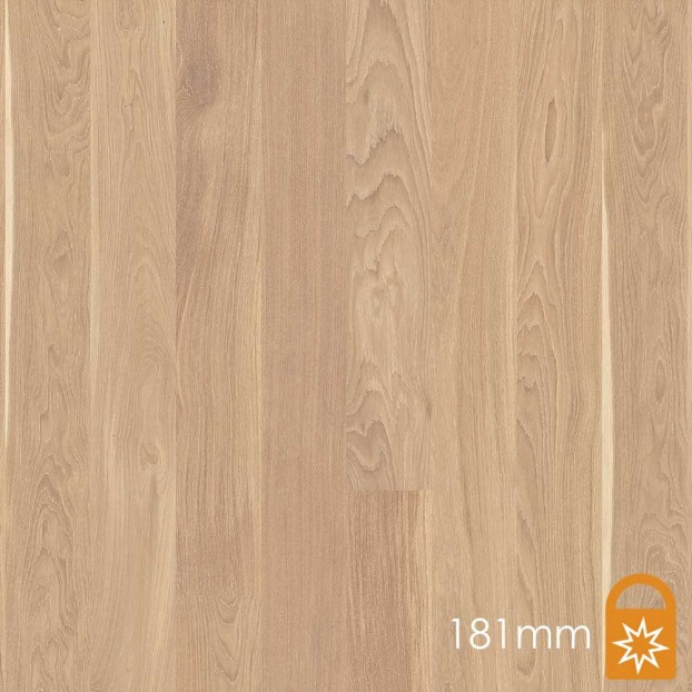 181mm Oak Animoso White | Boen Microbevel Board | Live Matt class=