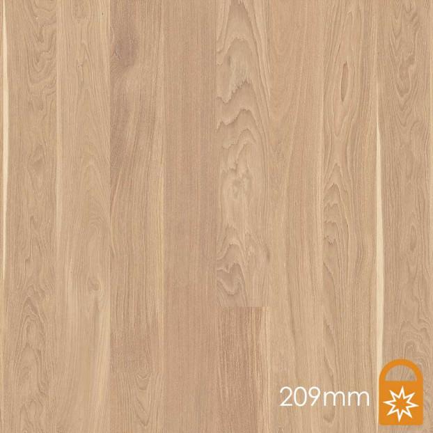 209mm Oak Andante White | Boen Microbevel Castle | Live Matt class=