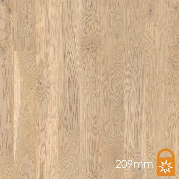 209mm Oak Animoso White | Boen Microbevel Castle | Live Matt class=