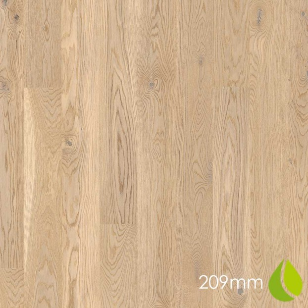 209mm Oak Animoso White | Boen Microbevel Castle | Live Natural class=
