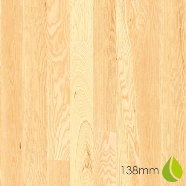 138mm Ash Andante | Boen Square-Edge Board | Live Natural class=