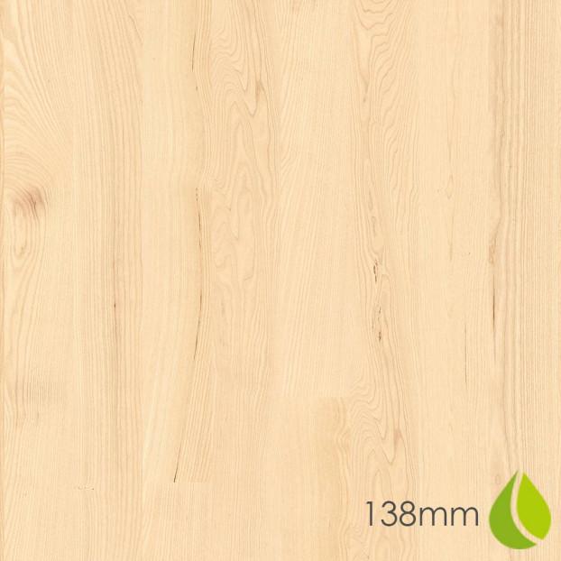 138mm Ash Andante White | Boen Square-Edge Board | Live Natural class=