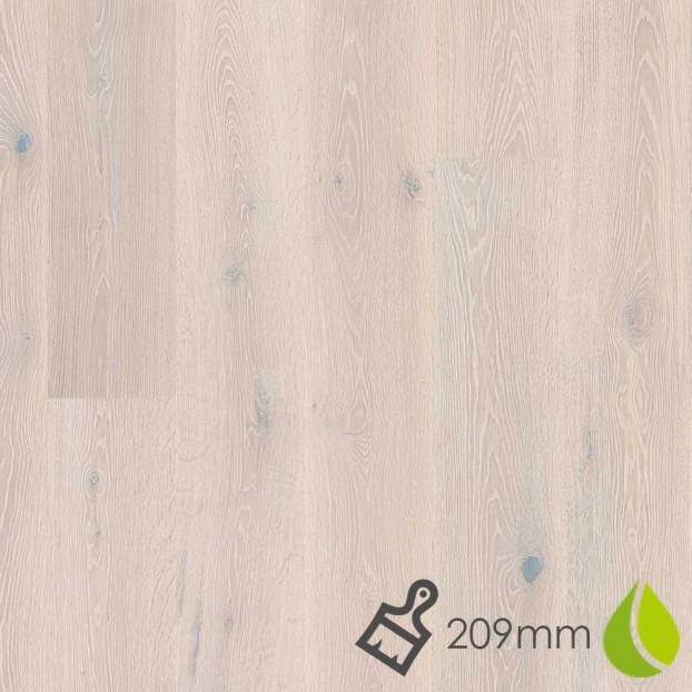 209mm Oak White Stone | Boen Stonewashed Castle | Live Natural class=