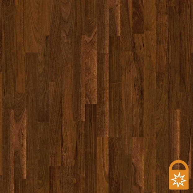 Walnut American Andante | Boen 3-Strip Engineered | Live Matt class=