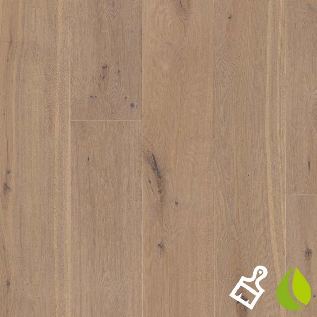 300mm Brushed Oak Sand | Boen Chaletino | Live Natural class=