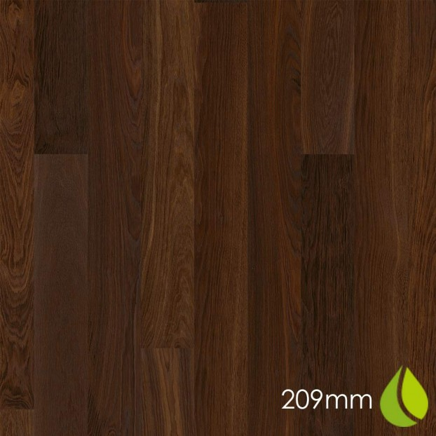 209mm Oak Smoked Andante | Boen Microbevel Castle | Live Natural class=