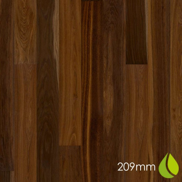 209mm Oak Smoked Marcato | Boen Microbevel Castle | Live Natural class=