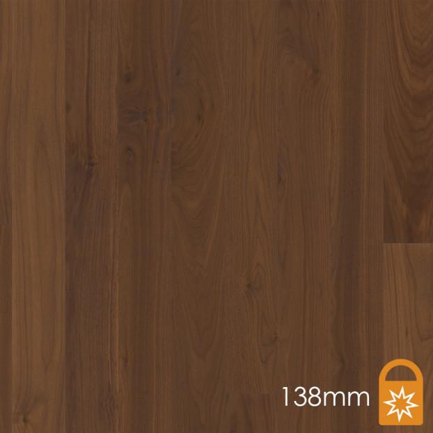 138mm Walnut American Andante | Boen Square-Edge Board | Live Matt class=