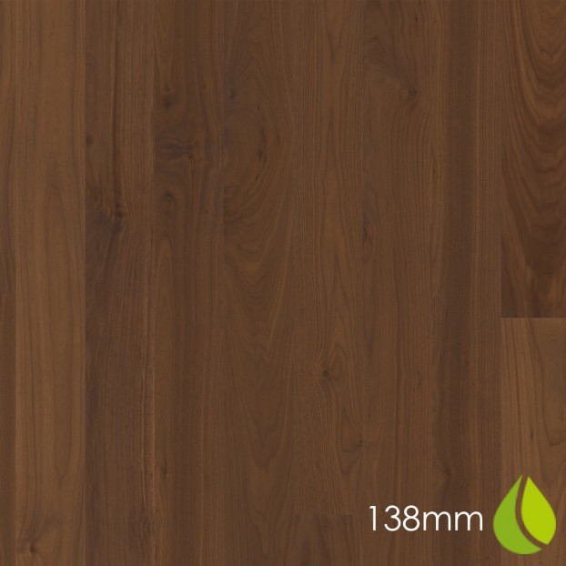 138mm Walnut American Andante | Boen Square-Edge Board | Live Natural class=