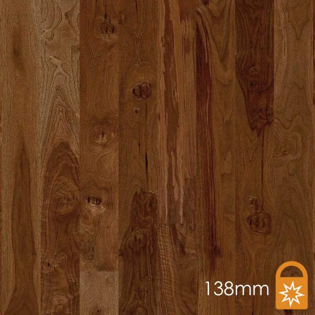 138mm Walnut American Animoso | Boen Square-Edge Board | Live Matt class=